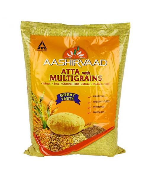 Aashirvaad multi grain atta
