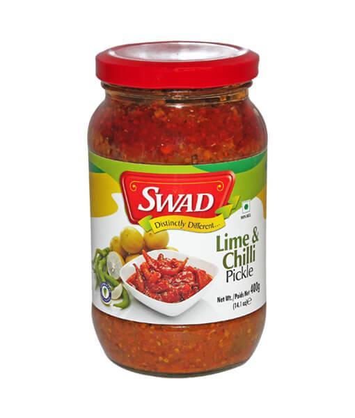 Swad_Vimal lime chilli pickle