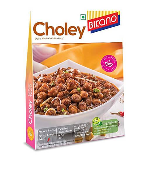 bikano choley ready to eat