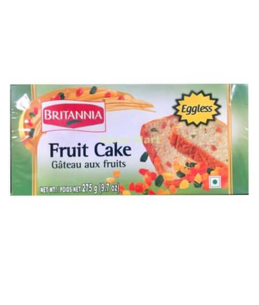 britannia fruit cake eggless
