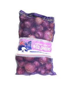 fresh red onion bag
