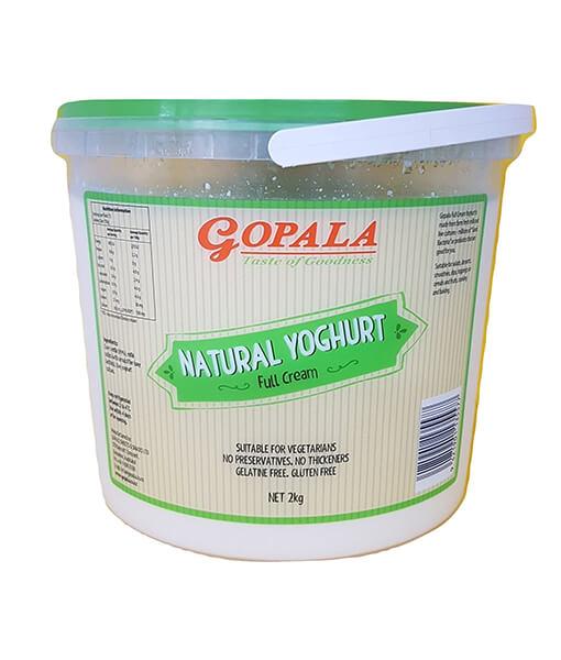 gopala full cream yogurt 2L
