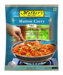 mothers mutton curry