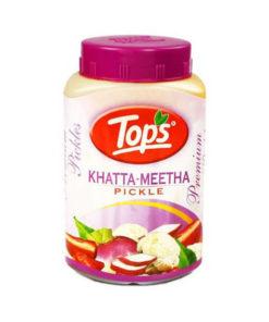 tops khatta meetha pickle