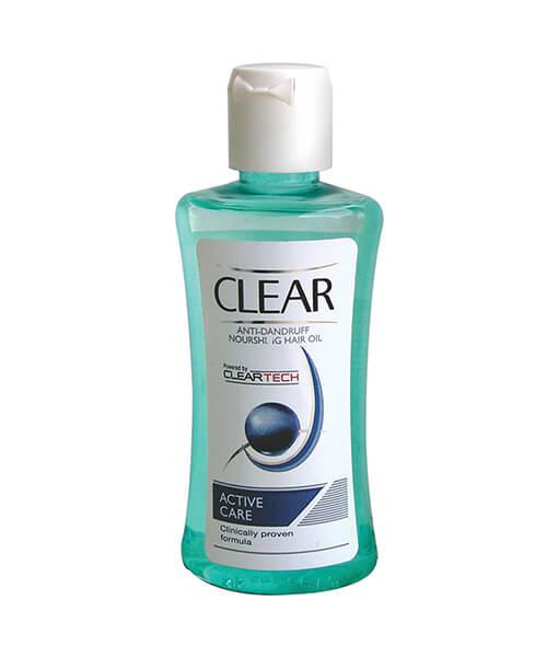 Clear Hair Oil