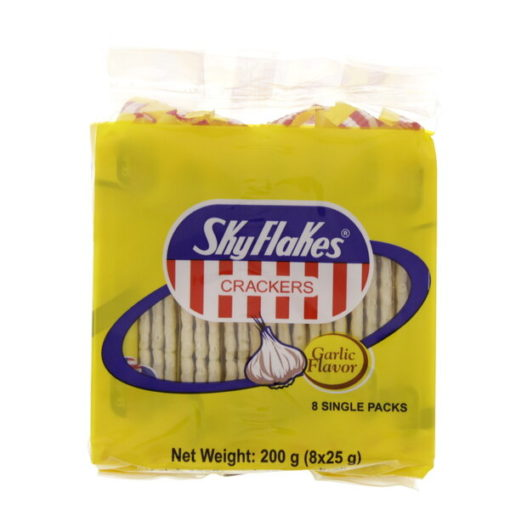 Skyflakes Garlic Crackers