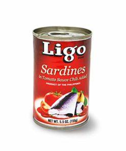 Ligo Sardines Tomato 155g