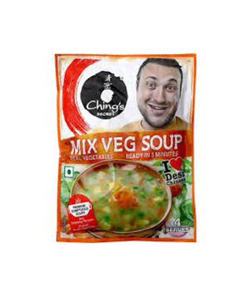 Chings Mix Veg Soup 55g