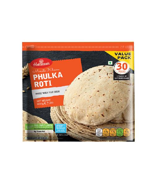Haldiram Phulka Roti 30pc