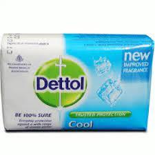 Dettol Soap Cool 4pk