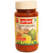 Priya Mix Veg Pickle 300gm