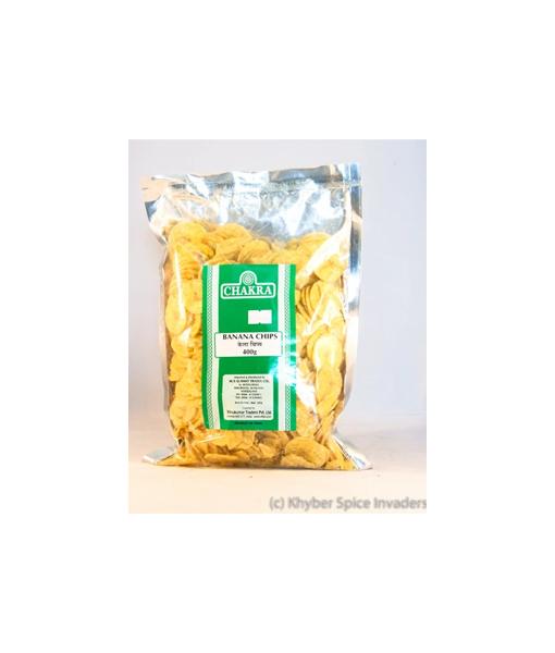 Chakra Banana Chips 400g