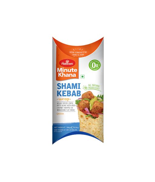 Haldi Shami Kebab Wrap