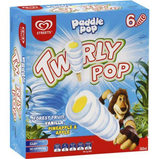 Paddle Pop Twirly Pop